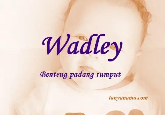 arti nama wadley