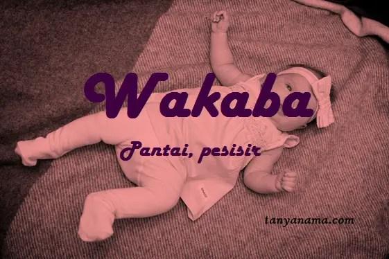 arti nama wakaba
