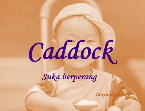 arti nama Caddock