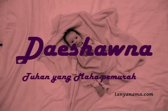 arti nama Daeshawna