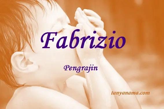 arti nama Fabrizio