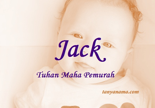 arti nama Jack