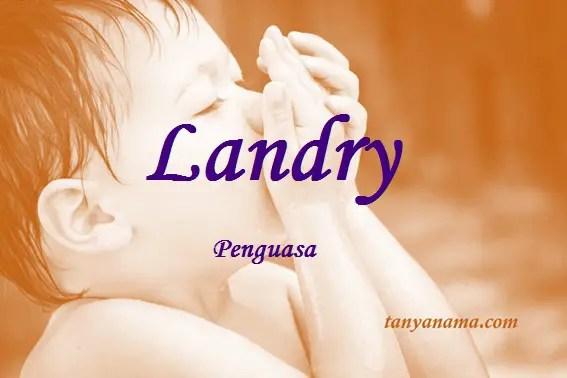 arti nama Landry