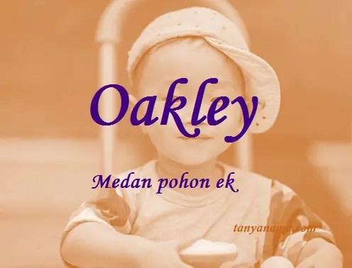 arti nama Oakley
