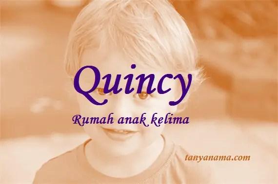 arti nama Quincy