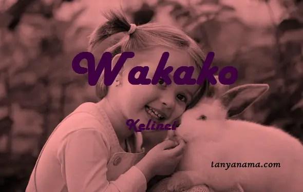 arti nama Wakako