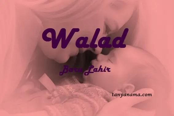 arti nama Walad