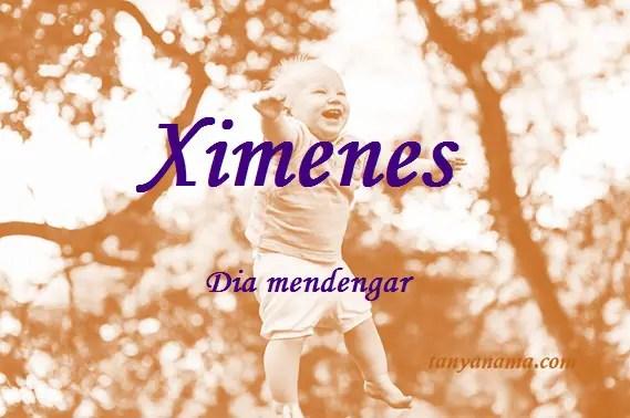 arti nama Ximenes