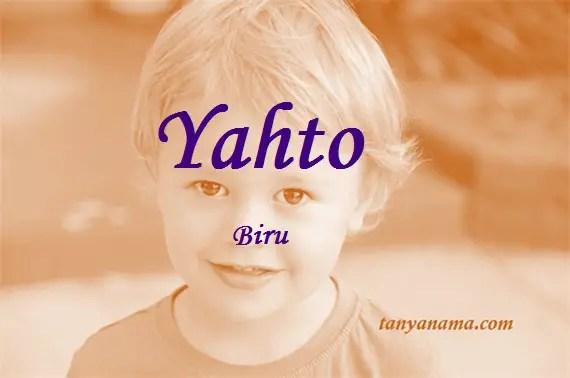 arti nama Yahto