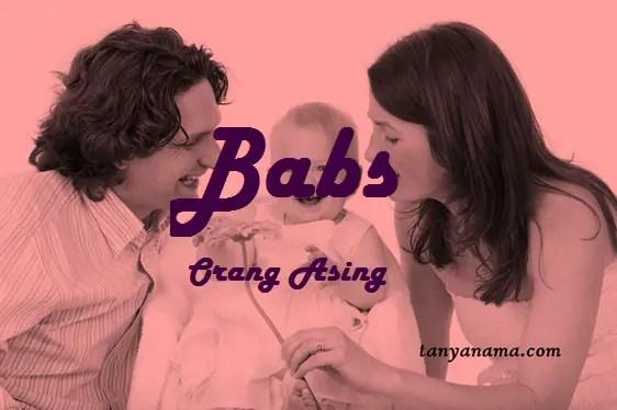 arti nama Babs