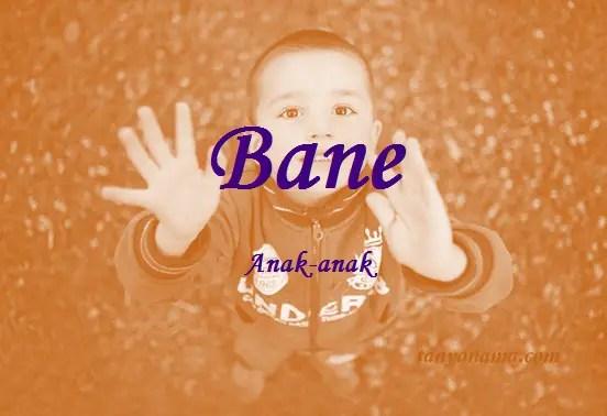arti nama Bane