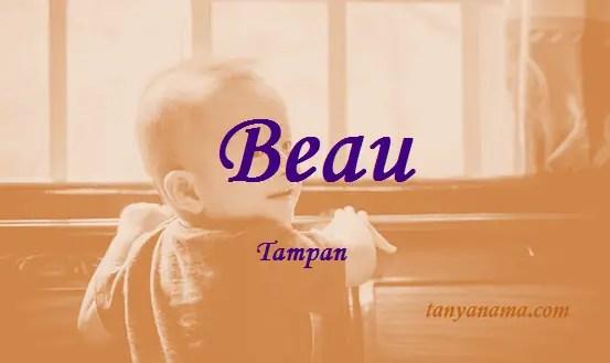 arti nama Beau
