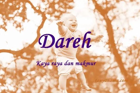 arti nama Dareh