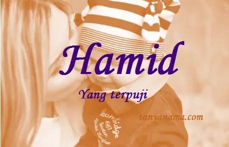 arti nama Hamid