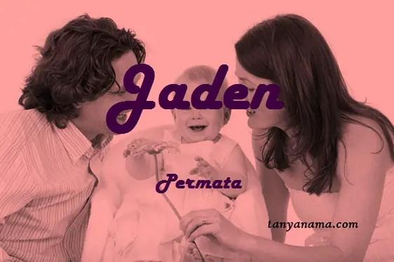 arti nama Jaden