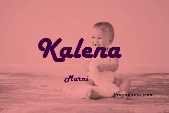 arti nama Kalena