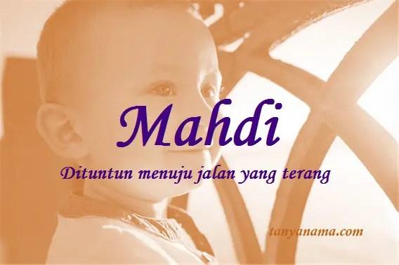 arti nama Mahdi