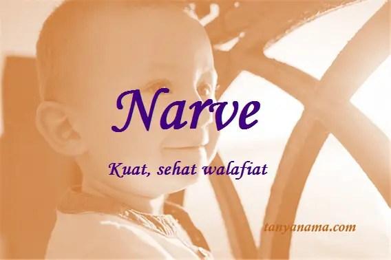 arti nama Narve