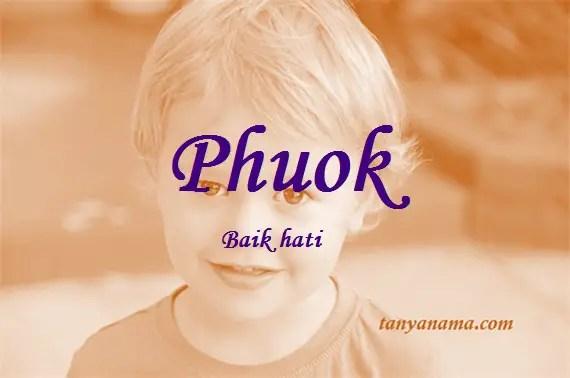 arti nama Phuok