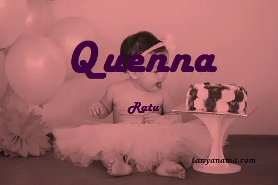arti nama Quenna