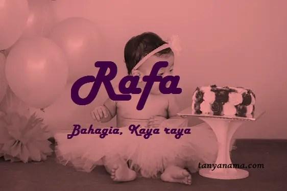 arti nama Rafa