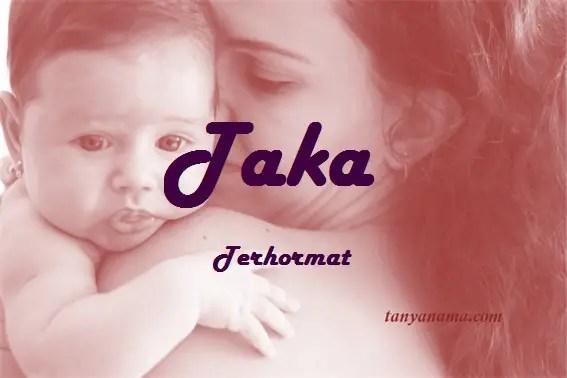 arti nama Taka