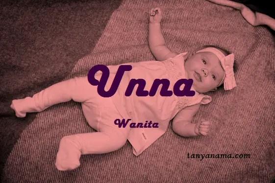 arti nama Unna