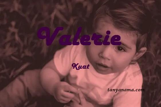 arti nama Valerie