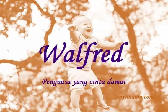 arti nama Walfred