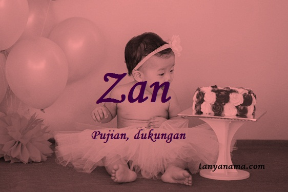 arti nama Zan