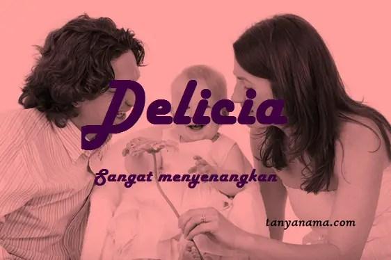 arti nama Delicia