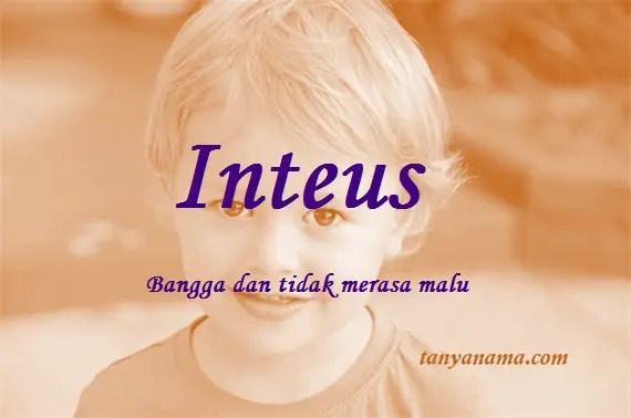arti nama Inteus