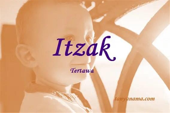 arti nama Itzak