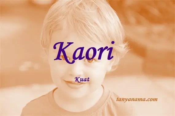 arti nama Kaori