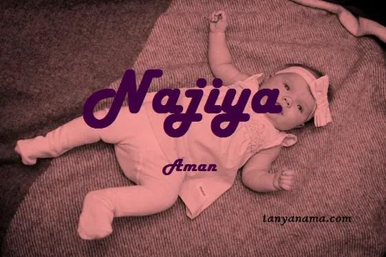 arti nama Najiya