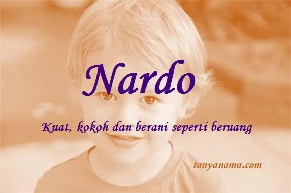 arti nama Nardo