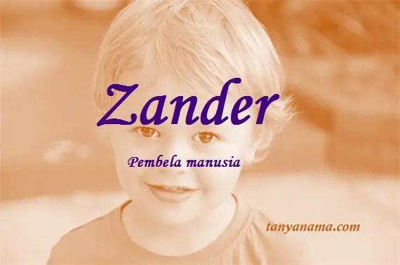 arti nama Zander