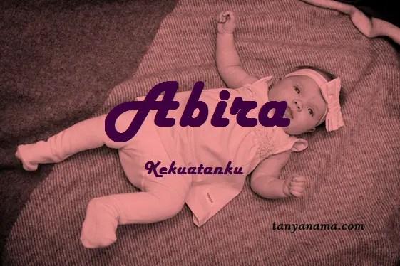 arti nama Abira