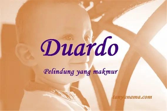 arti nama Duardo