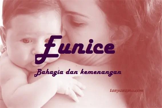 arti nama Eunice