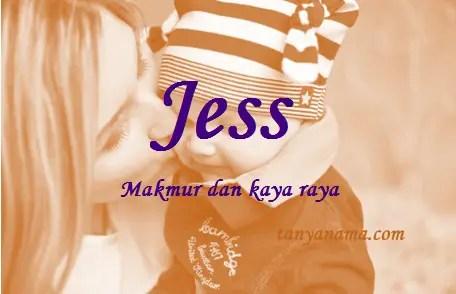 arti nama Jess