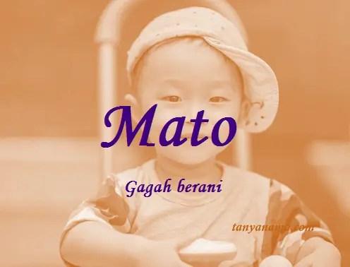 arti nama Mato