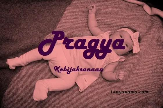 arti nama Pragya