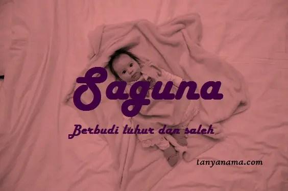 arti nama Saguna