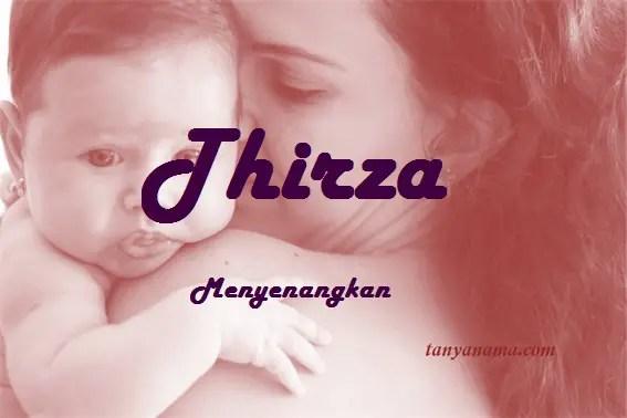 arti nama Thirza