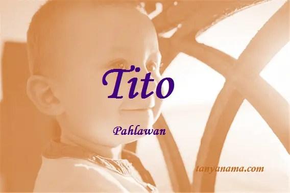 arti nama Tito