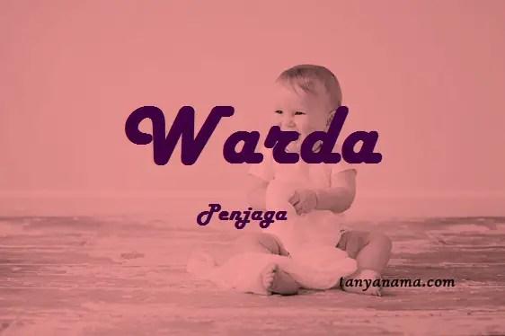 arti nama Warda