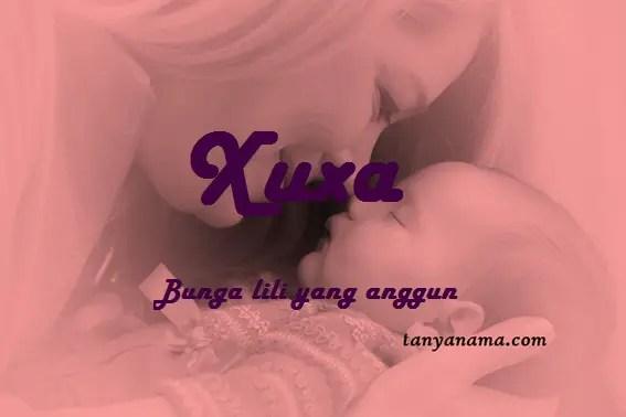 arti nama Xuxa