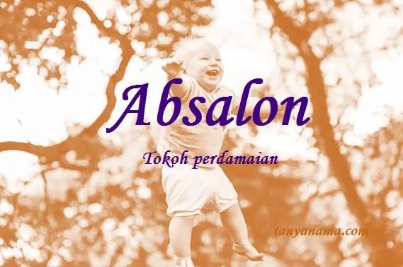 arti nama Absalon