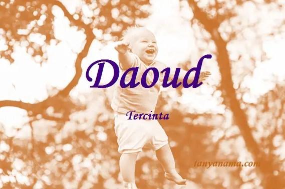 arti nama Daoud